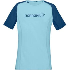 Norrøna Fjørå Equaliser Lightweight T-Shirt Women Trick Blue